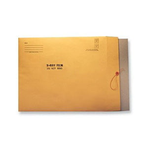 X-Ray Film Mailing Envelopes