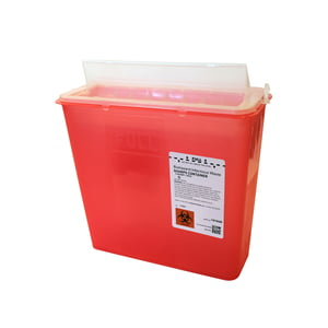 5 qt. Sharps Disposal Container, 20/case