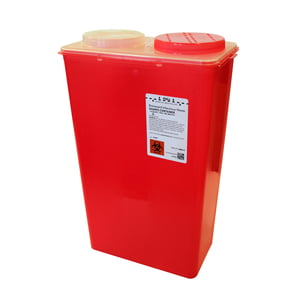 14 qt. Big Mouth Sharps Container, 10/case