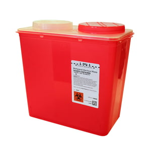 8 qt. Big Mouth Sharps Container, 20/case